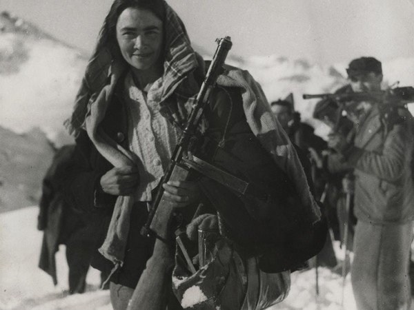 The Unknown Photographer, The Italian Magnis Freedom Fighters, 1944