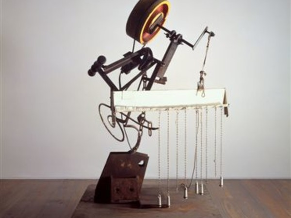 Jean Tinguely, Friedrich Engels, filosofo, 1988. Museum Tinguely, Basilea
