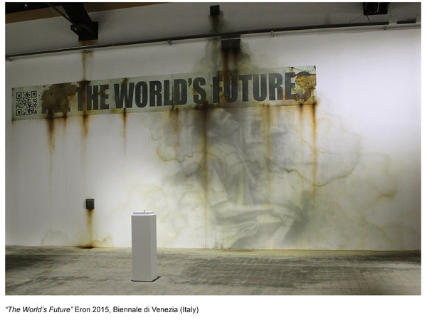 Eron, The World's Future, Biennale di Venezia 2015