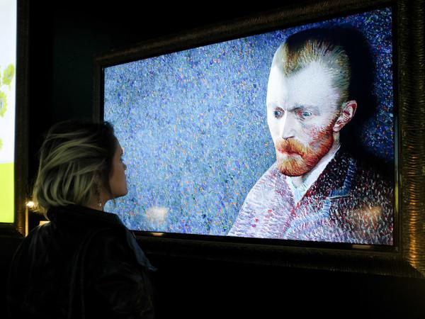 Van Gogh Shadow - dipinti animati