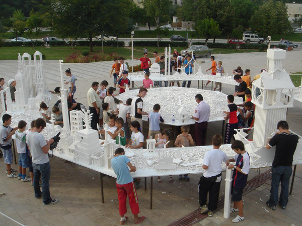Olafur Eliasson, The collectivity project, 2005 | 3rd Tirana Biennale, Albania, 2005