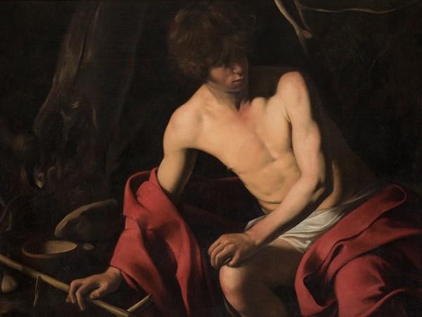 Michelangelo Merisi da Caravaggio, San Giovanni Battista, Gallerie Nazionali di Arte Antica, Galleria Corsini, Roma I Ph. Alberto Novelli