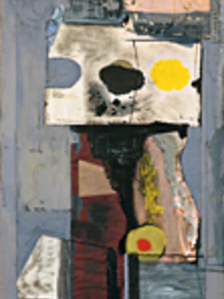 Robert Motherwell, Personaggio (Autoritratto) (Personage [Autoportrait]), 1943. Collezione Peggy Guggenheim, Venezia
