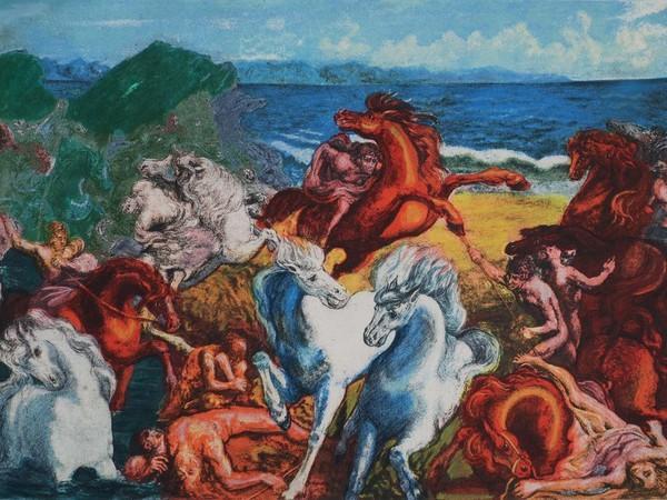 Aligi Sassu, La grande battaglia, 1982
