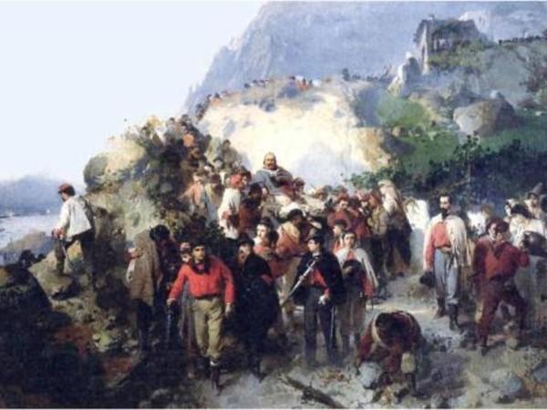 Gerolamo Induno, Garibaldi ferito sull'Aspromonte