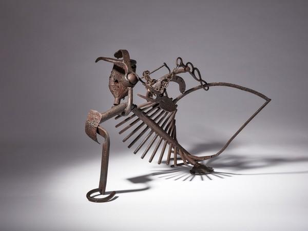 Paul Wiedmer, Freiburg. Metallo, 66x54x45cm. Collezione dell'artista