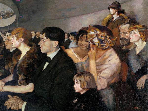 Anselmo Bucci, Odeon, 1919-1920, Olio su tela, Collezione privata | Courtesy Matteo Mapelli, Galleria Antologia Monza