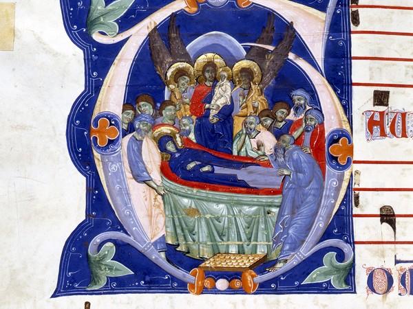 Maestro della Bibbia di Gerona, (Bologna ultimo quarto del XIII secolo), Graduale. Ms. 526, Provenienza San Francesco. Bologna, Museo Civico Medievale