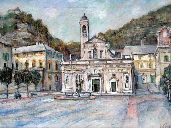 Eso Peluzzi, Santuario di N.S. di Misericordia, 1965, olio su tela
