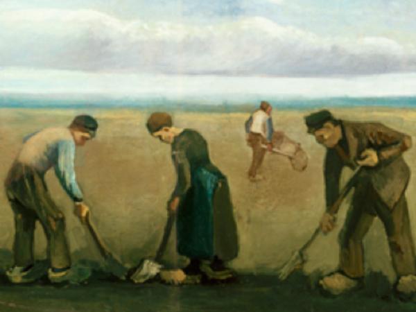 FOTO: L'uomo e la terra: Van Gogh in mostra a Palazzo Reale