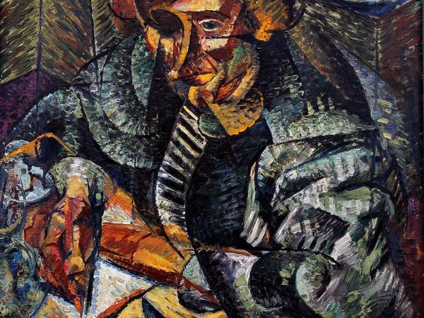 Umberto Boccioni, Antigrazioso, 1912-13. Olio su tela