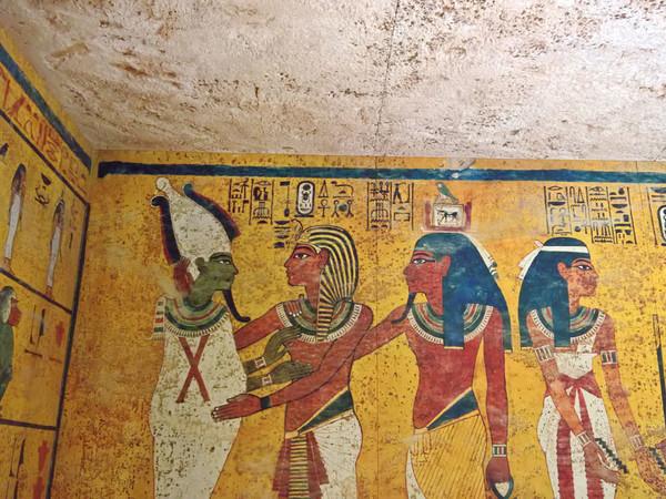 Ricostruzione della Tomba di Tutankamon