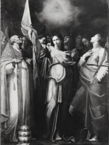 Sant'Orsola con le compagne