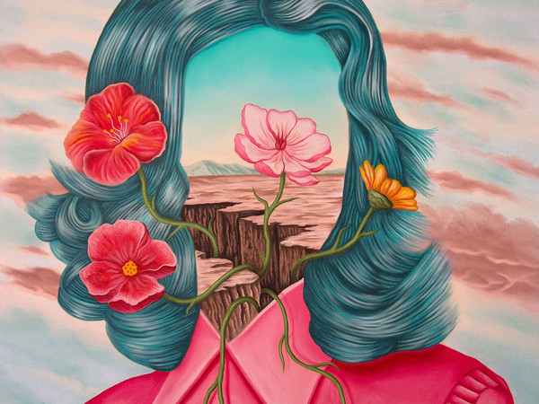 Rafael Silveira, Mind the Gap, 2020, oil on canvas, 80x60 cm.