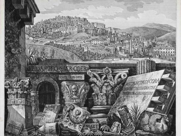 La reinterpretazione del classico: dal rilievo alla veduta romantica nella grafica storica, m.a.x museo, Chiasso