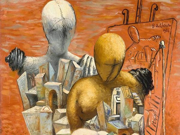 FOTO: La pittura metafisica e le sculture di De Chirico