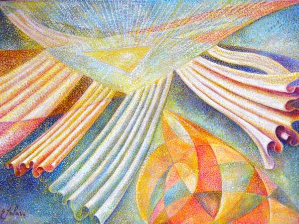 Ernesto Solari, L'anima, olio su tela, cm 50x70