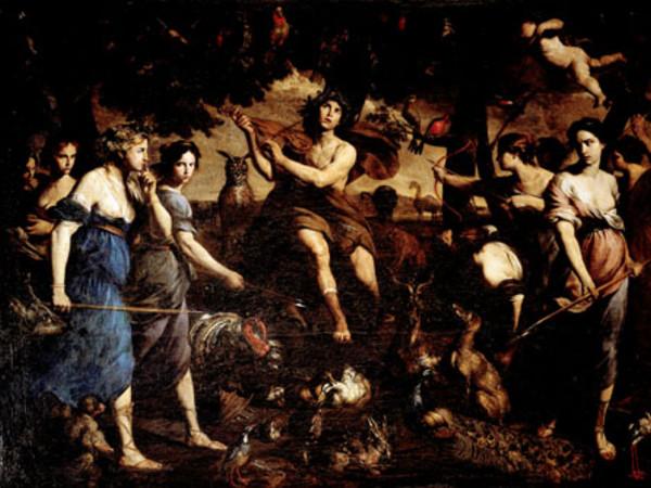 Orfeo e le baccanti
