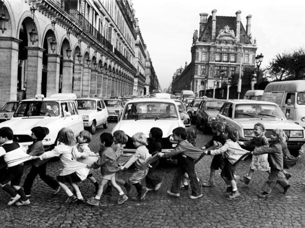 Robert Doisneau, Los mandiles de Rìvoli, 1978