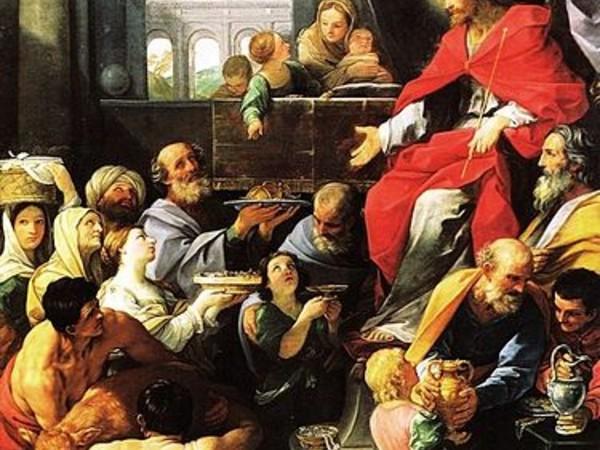 Guido Reni, La pala di San Giobbe