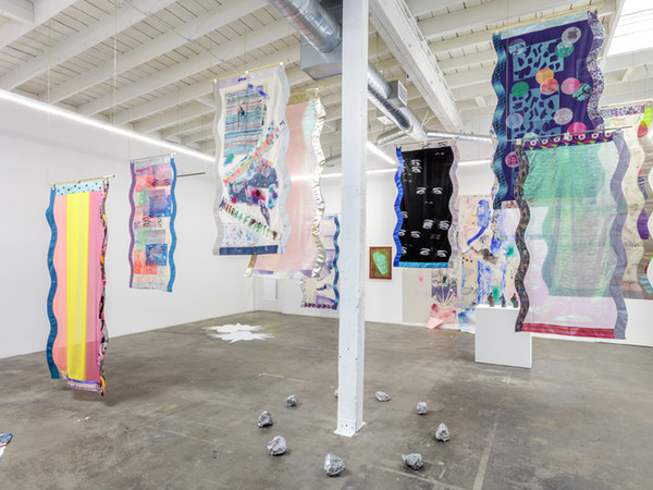 Ludovica Gioscia, Infinite Present, 2017. Baert Gallery, Los Angeles