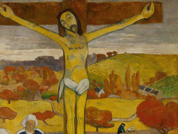 Paul Gauguin, Il Cristo giallo, 1889, Olio su tela, 73 x 92.1 cm, The Albright–Knox Art Gallery, Buffalo, New York