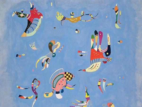 Vassily Kandinsky, Bleu de ciel (Azzurro cielo), 1940. Olio su tela, cm 100 x 73. Donazione Nina Kandinsky, 1976. Service de la documentation photographique du MNAM ? Centre Pompidou, MNAM?CCI. © Centre Pompidou, MNAM?CCI / Service de la documentation photographique du MNAM / Dist. RMN? GP. © Vassily Kandinsky by SIAE 2013