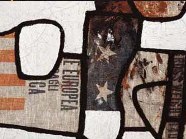 Alberto Burri, Sz 1, 1949, cm. 49x58,5, olio, sacco su tela