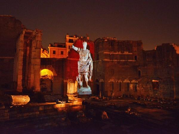 Foro di Augusto, Roma, Notturno | Foto: © Andrea Franceschini