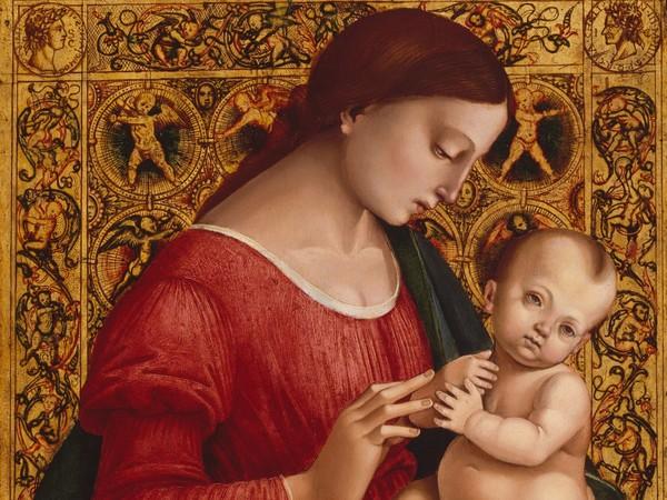 Luca Signorelli, Madonna col Bambino, 1505-1507, Olio e tempera su tavola, 47.6 x 51.4 cm, New York, Metropolitan Museum of Art