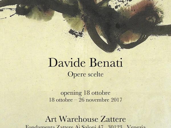 Davide Benati. Opere scelte, Art Warehouse Zattere, Venezia
