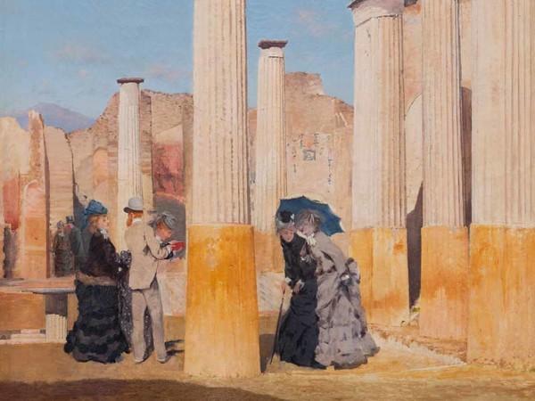 Giuseppe De Nittis, Il Foro di Pompei, 1875, Olio su tela | Courtesy of Società di Belle Arti, Viareggio