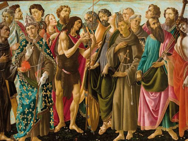Sandro Botticelli, L'Incoronazione della Vergine e Santi