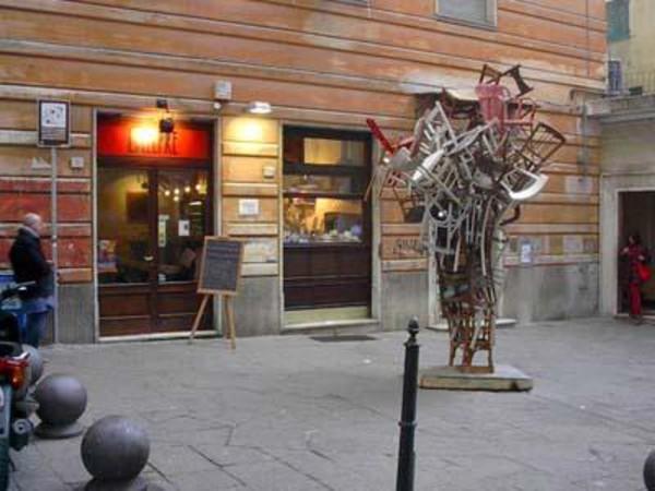 La lepre a genova wine bar itinerari turismo arte.it