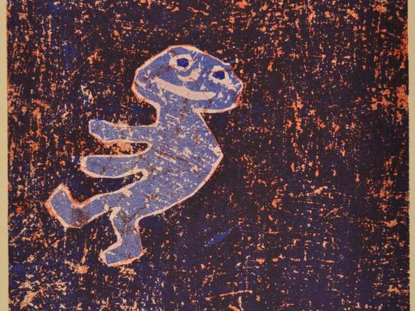 Jean Dubuffet, Composition, 1962, litografia, mm 302x232, Bologna, Pinacoteca Nazionale, Gabinetto Disegni e Stampe, Tip. 29861
