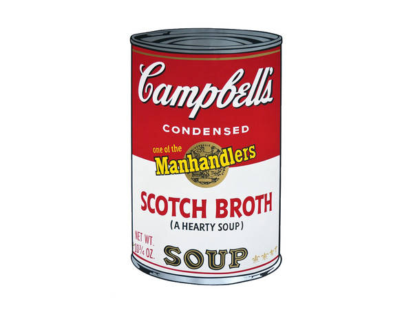 Andy Warhol, <em>Campbell&rsquo;s Soup</em>, 1980