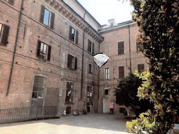 Tadashi Kawamata, Nests in Milan, disegno preparatorio / preliminar sketch