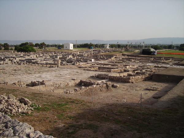 Scavi acropoli di Gnathia