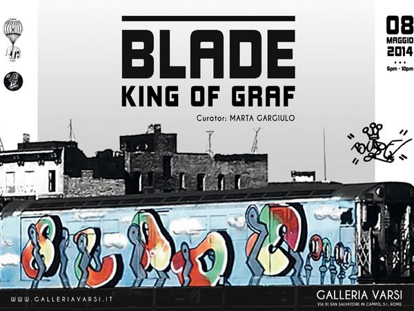 Blade. King of Graf, Galleria Varsi, Roma