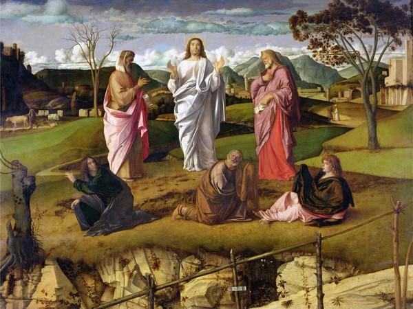 Giovanni Bellini, Trasfigurazione di Cristo, 1478-1479 circa