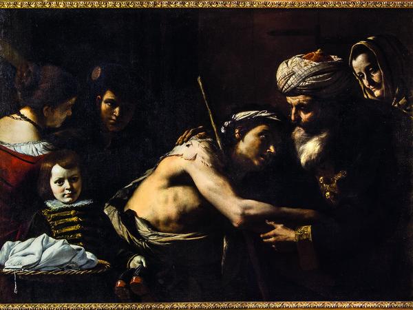 Mattia Preti, Il ritorno del figliol prodigo, 1640-1645