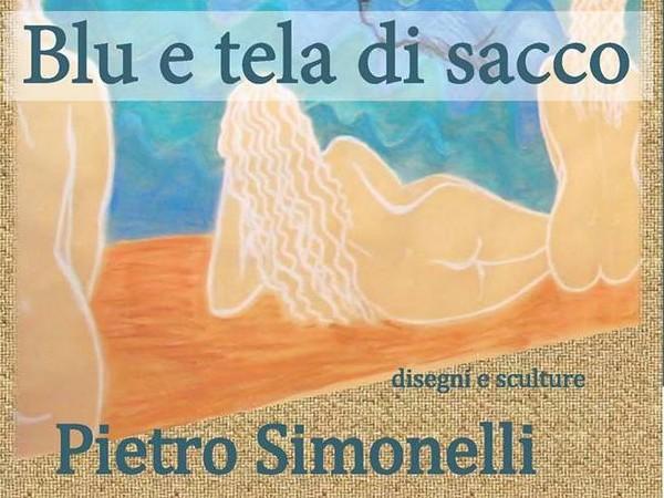 Pietro Simonelli. Blu e tela di sacco