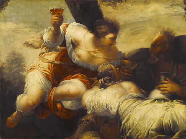 Sebastiano Mazzoni, Loth e le figlie, 107,5x145