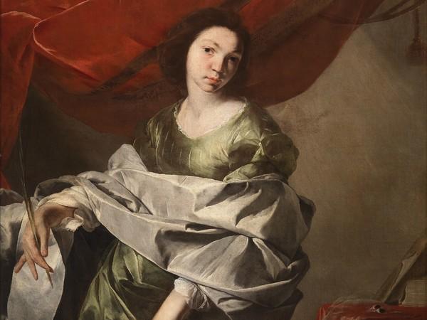 Collezione Fondazione De Vito, Bernardo Cavallino, Santa Lucia, 1645-1648 circa, Olio su tela, 103 x 129.5 cm