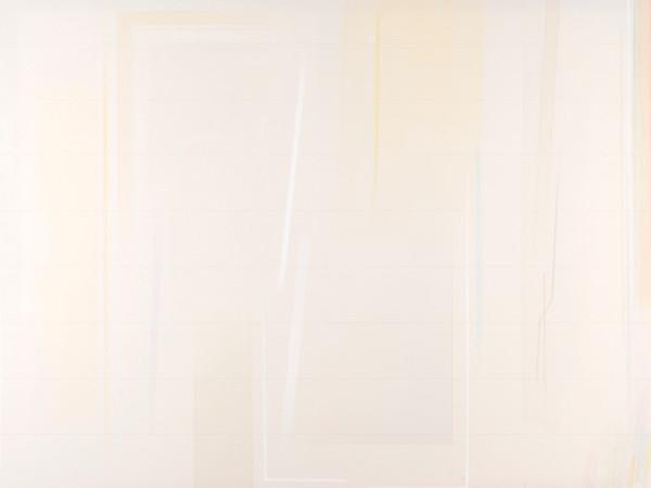 Riccardo Guarneri, Un giallo leggero tecnica mista su tela, cm. 140x180 2016