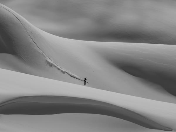 Pierluigi Orler, The perfect ride, Passo Rolle, 2014, Nacio 2000