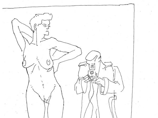 © Alvise Bittente per ARTE.it, Helmut Newton opening. Selfie without wife, dalla mostra