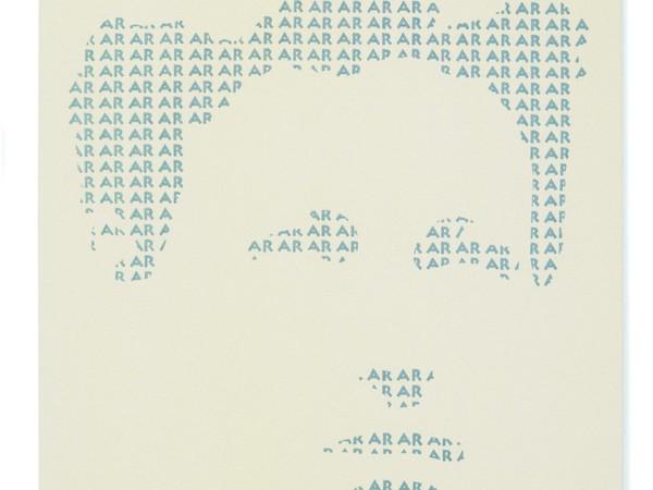 Aldo Runfola, AR, trittico lana su tela, 200x150 ciascuno, 2002