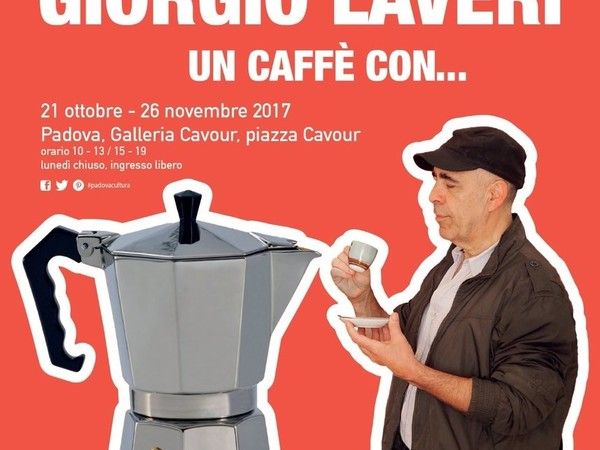 Giorgio Laveri. Un caffè con..., Galleria Cavour, Padova