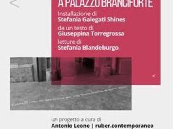 Stefania Galegati Shines e Giuseppina Torregrossa. Per una storia a Palazzo Branciforte